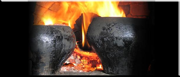 Дровяная кирпичная печь