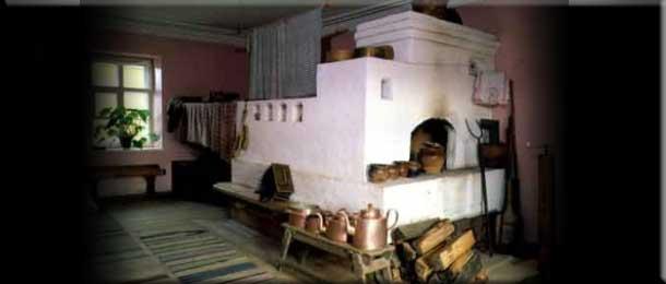 Отопительно варочная печь В. А. Потапова