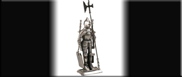 Каминный набор в виде рыцарей