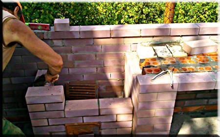 печи камины барбекю сделай сам