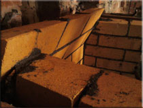 Кирпич 3-го ряда задней стенки портала