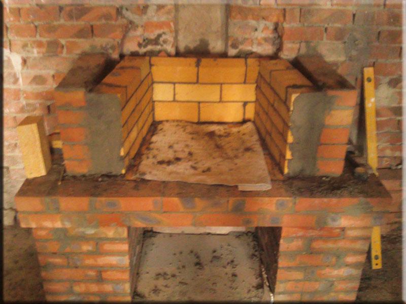 Из чего сделать камин в домашних условиях 243