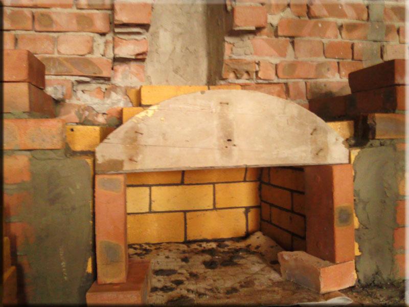 Как самим сделать камин дома