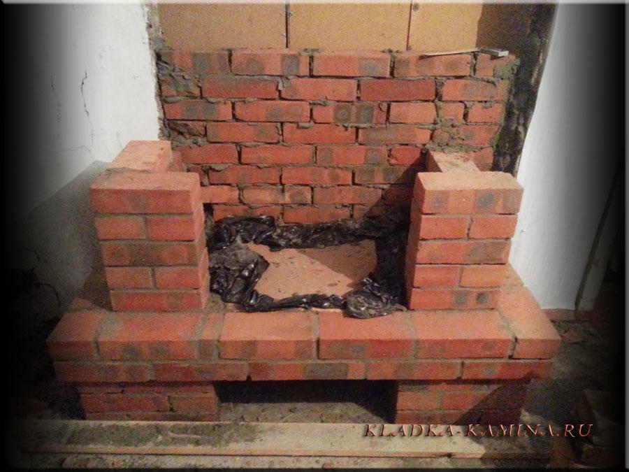 Кирпичная кладка своими руками каминов 132