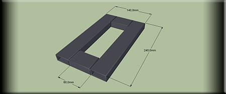 Рамка квадрата